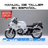 Manual Taller Diagramas Eléctricos Moto Bmw R 1200st Español