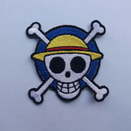Parche Bordado One Piece Logo Mugiwara