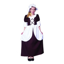 Chica Colonial Medium Costume (8-10)