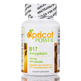 B17 (amygdalin) 100 Mg Apricot Power100 Cápsulas