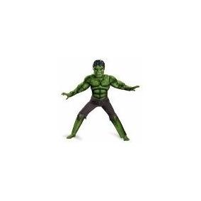 Disfraz El Increible Hulk Con Musculos 100% Original Marvel