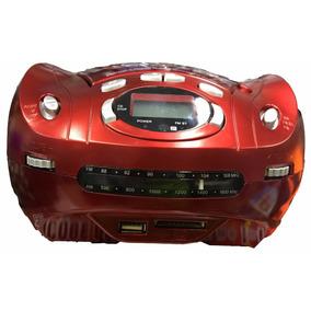 Radio Portatil Top Toca Cd Mp3 Mini System Usb Fm Bluetooth