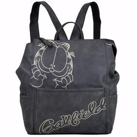 Bolsa Feminina Estilo Mochila Garfield Gf1802