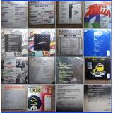Dj Vinilos Lote X10 Versiones Maxis Rock Pop House Gapul