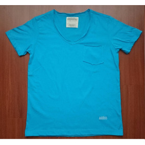 Camiseta Camisa Camisilla Cuello V Aeropostale En Remate