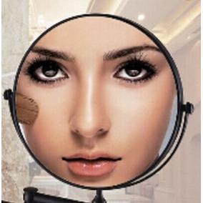 Espejo Doble Aumento 3x Maquillaje Acero Inoxidable,lupa