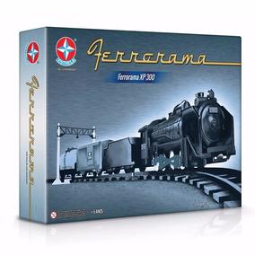 Trem Ferrorama Xp 300 Trenzinho Elétrico Original Estrela