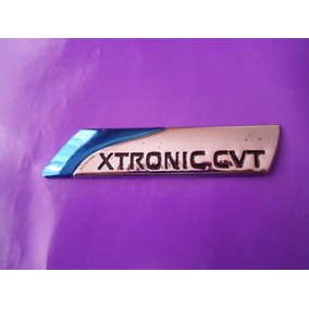 Emblema Xtronic Cvt Nissan Camioneta Auto Placa