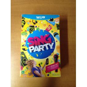 Wii U Sing Party Novo Lacrado