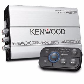 Amplificador Kenwood Kac-m1824bt 4 Canales Clase D Bluetooth