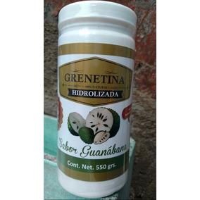Grenetina Hidrolizada Bote De 550grs - Paquete De 10 Botes