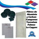 Filtros De Aluminio Y Carbon Para Campana Tecnolam