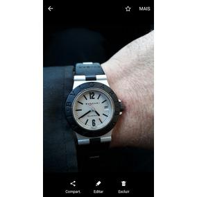4ff40e3e233 Relogio Bvlgari Diagono Professional Stainless Steel - Relógio ...