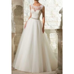 Promoção Vestido Noiva Lindo Casamento Pronta Entrega 55fli