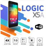 Telefono Logic X5a 8gb Android 7.0 1gb Ram 5mpx