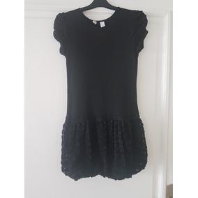 Vestido De Nena Zara De Fiesta Negro Talle 11- 12