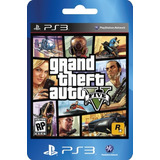 Gta 5 Gta V Ps3 Grand Theft Auto Digital Para Ps3