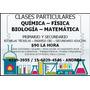Clases Particulares De Química Física Biología Matemática