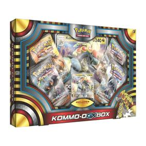 Carta Pokemon Tcg Pokemon Kommo-o Gx Box 80318 + 4 Boosters