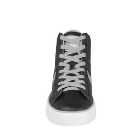 Tenis Urbanos Nike Para Hombre Piel Negro, Gris Y Blanco 354
