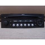Aparelho De Som E Radio Original Citroen C3 - Sp Francês