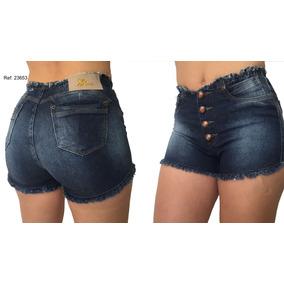 Short Cóz Alto Hot Pants C Bojo Estilo Pit Bull Promoção