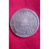 Moneda 1 Real 1832 Guanajuato Sobre Ensayador Mj/jj