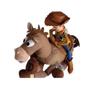 Cavalo Bala No Alvo 35cm Larg.original Da Loja Disney