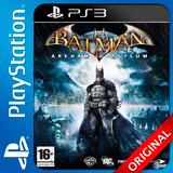 Batman Ps3 Arkham Asylum Elegi Reputacion Al Comprar