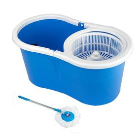 Balde Spin Mop 360 Centrifuga Cesto De Plastico Esfregões