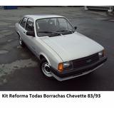 Kit Borrachas (todas) Gm Chevette Junior - Kit Reforma