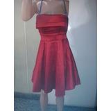Vestido Campanita Taftan Elastizado T M Al Xl $ 700