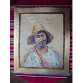 Cuadro Pintura Óleo Retrato Bors Rebajado