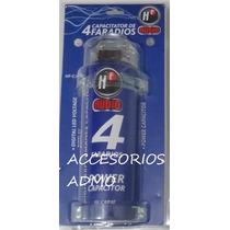 Capacitor Para Audio Amplificador Y Bateria Hf 4 Faradios