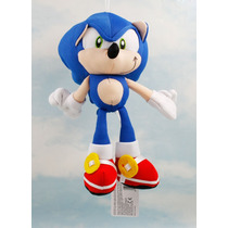 Pelúcia Sonic Nintendo Hedgehog Brinquedo Pronta Entrega