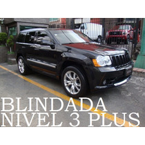 Grand Cherokee Srt-8 2008 Blindada Nivel 3 Plus 4x4