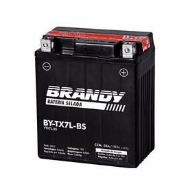 Bateria Moto Barata Titan 150 Es By-tx7l-bs Brandy