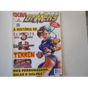 Revista Gamers Especial N°1 .guia Mortal Kombat , Street Fig