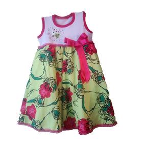 Vestido Para Niña Mariposa Ropa Para Niña Verde
