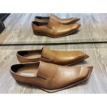 Zapatos Priamo Italy Punta Diagonal Cuero. Envio Gratis