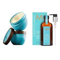 Moroccanoil Máscara Hidratante 250g + Óleo Treatment 125ml