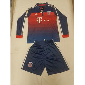 Uniforme Bayern Munich Manga Larga