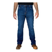 Calça Corse Motorcycle Jeans - Stone Washed/azul - Slim