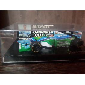 Miniatura 1/43 Minichamps Benetton Schumacher Campeão F1 94