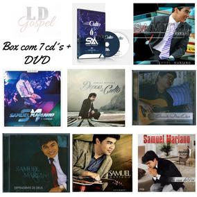 Dvd Samuel Mariano + Box Com 7 Cd´s Evangélico - Originais.