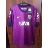 Camiseta De Boca Juniors Verano 2013 Violeta Nª 7 Original