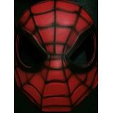 Máscara Hombre Araña Gomaeva Super Héroe Souvenir Fiestas