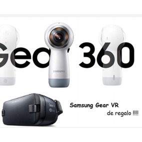 Cámara Samsung Gear 360 (2017) 4k + Gear Vr Virtual