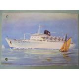 Postal Barco Cabo San Roque 1950/60