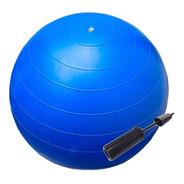 Pelota Esferodinamia Pilates 55 Cm Yoga + Inflador Nacional